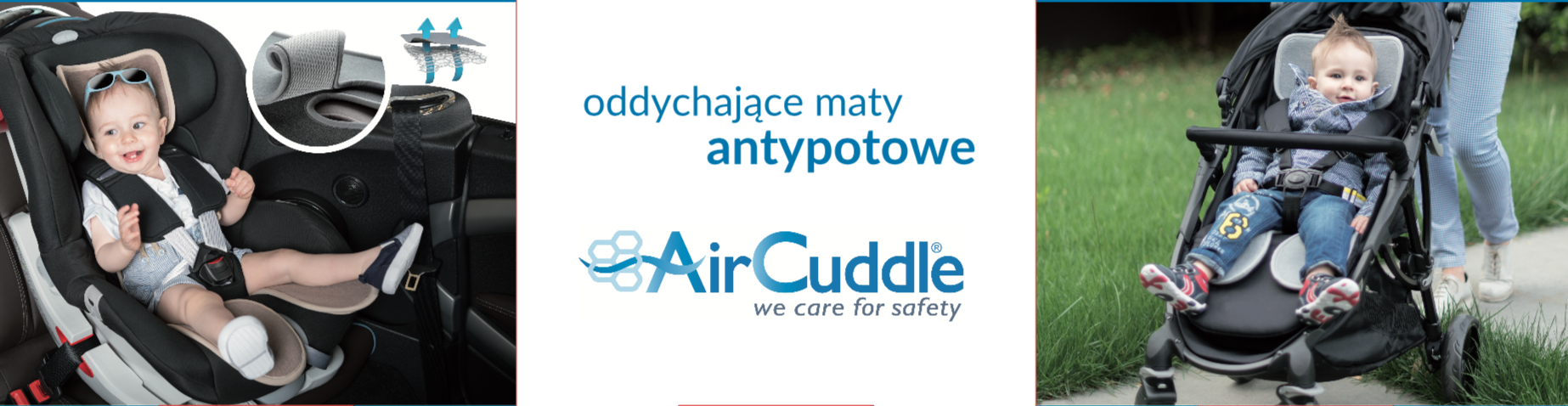 Maty antypotowe AirCuddle